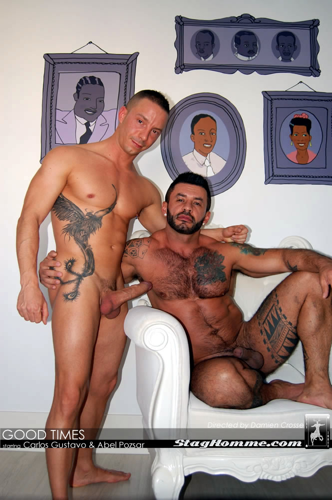Stag Homme Abel Pozsar Carlos Gustavo Fucking Cum06 Abel Pozsar Gets His Ass Fucked by Brazilian Muscle Stud