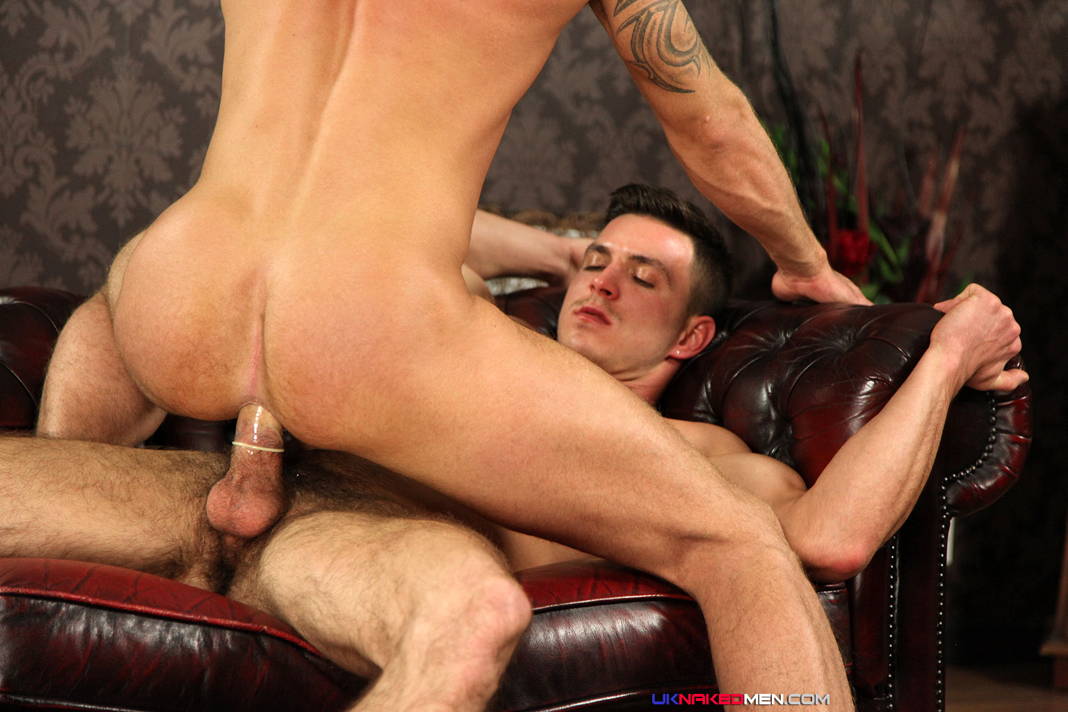uknakedmen paddy obrian marco sessions straight fucking thick cock 06 Straight Man With Thick Cock Fucks his First Man Ass
