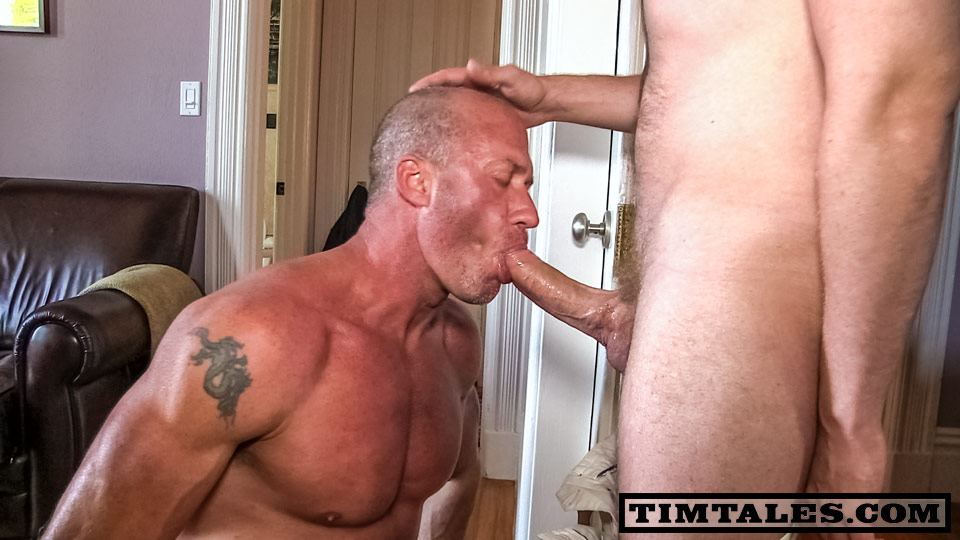 TimTales Tim and Eric Norris big cock fucking 01 Amateur Muscle Daddy Gets a Huge Cock and Cum Facial