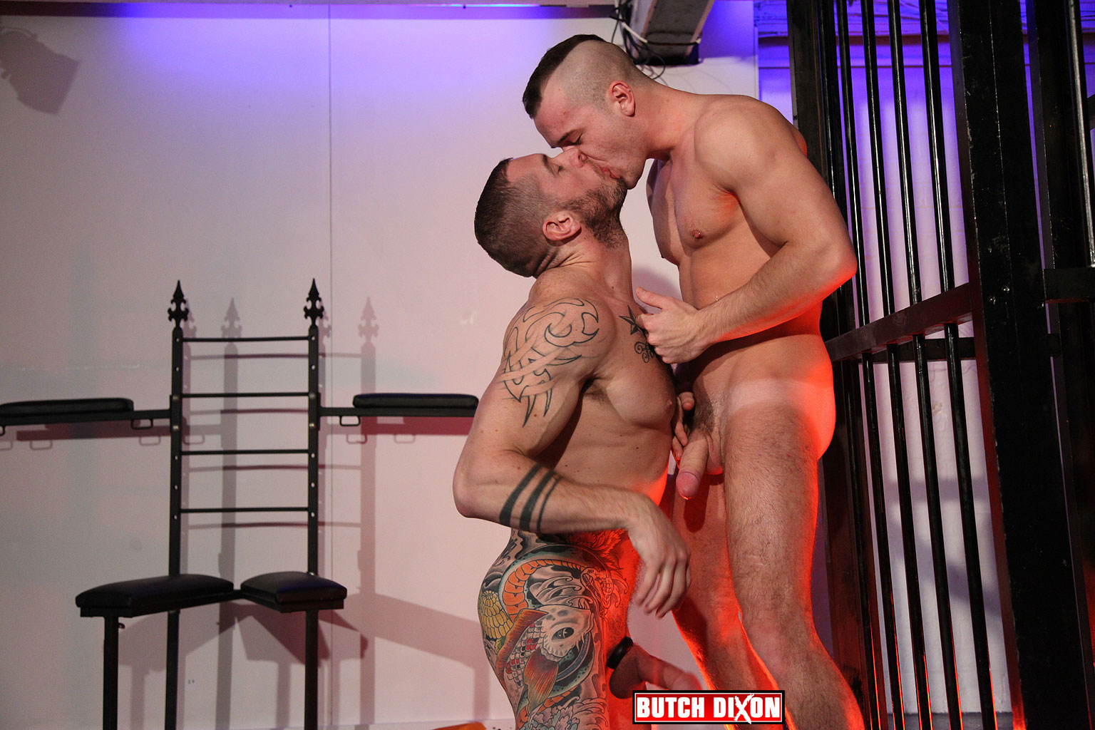 Butch Dixon Harley Everett and Diesel OGreen bareback 08 Amateur British Guys With Huge Uncut Cocks Fucking Bareback