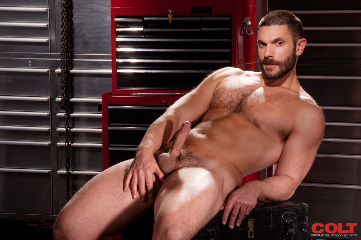 Colt-Armour-Bob-Hager-and-Dirk-Caber-Hairy-Beefy-Men-Fucking-232 New From Colt Studio: Bob Hager and Dirk Caber - Hairy Beefy Man Fuck