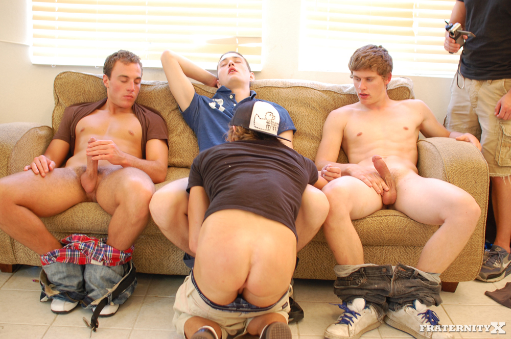 Fraternity X Angelo and Shawn and Jansen and Morgan Big Cock Fraternity Boys Barebacking 06 Big Cock Straight Fraternity Brothers Raw Gang Bang a Freshman
