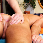 Rub Him Big Daddy Enzo Bloom muscle man bareback with big uncut cock 04 150x150 Amateur Muscle Stud Barebacks His Massage Client With A Huge Uncut Cock