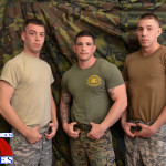 All American Heroes Sergeant Slate Triple fucking big cocks Army guys Amateur Gay Porn 01 150x150 Two Real Army Privates Fuck Their Muscle Sergeant and Cum In His Mouth