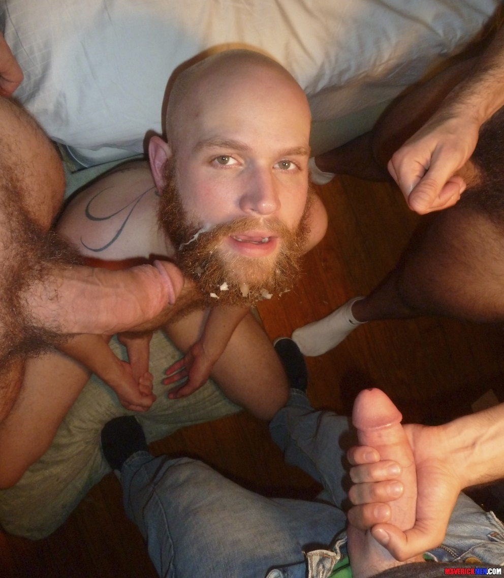 Amateur gay facial