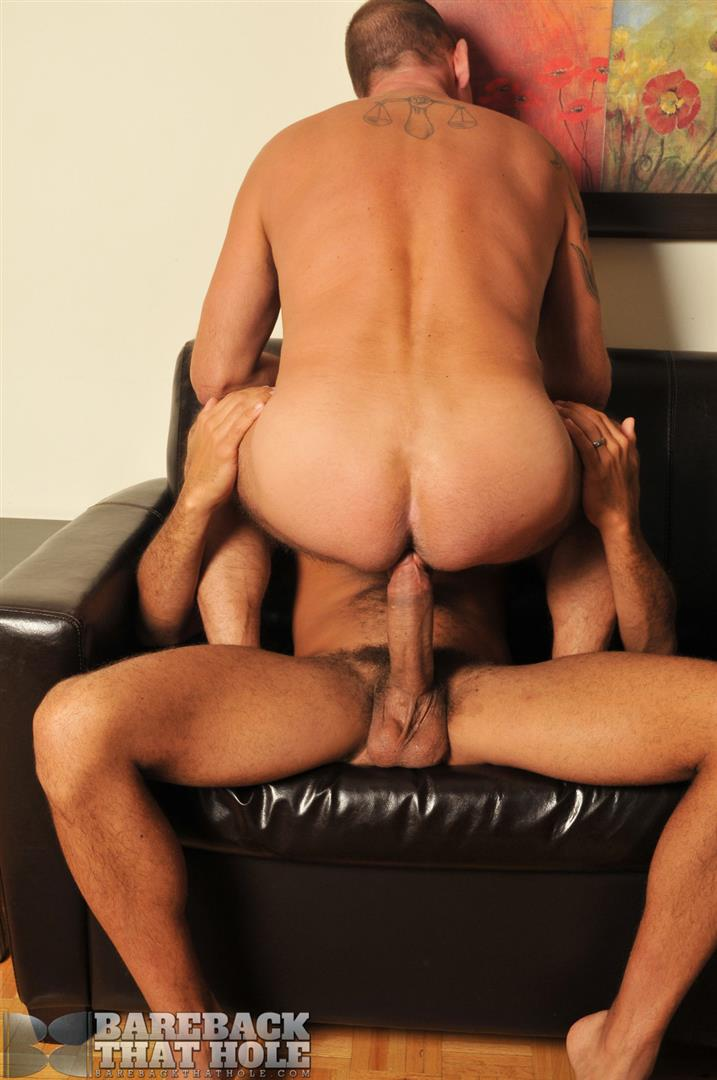 "Bareback That Hole Antonio Biaggi and Pierce Miller BBBH Huge Cock Bareback Fucking Amateur Gay Porn 06 Antonio Biaggi Barebacks A Pierced Daddy With His 12"" Uncut Cock"