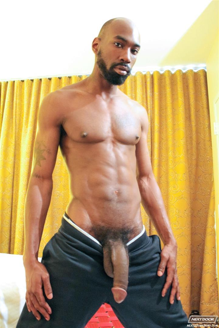 Next Door Ebony Astengo and PD Fox Big Black Cocks Fucking Amateur Gay Porn 02 Two Hung Black Guys Having Anonymous Gay Sex In A Hotel Room
