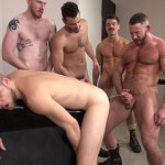Raw and Rough Bareback Gay Sex Orgy Amateur Gay Porn 03 150x150 Six Hairy Hung Guys Pounding A Bottom At A Bareback Sex Party