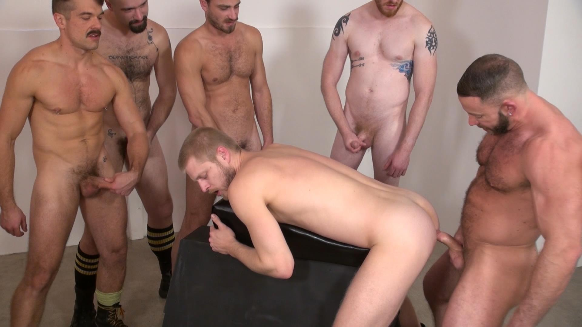 Gay men bareback piss sex while smoking