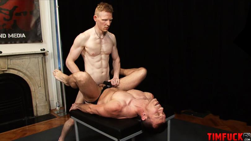 Treasure Island Media TimFuck ALEX KAINE and ROB YAEGER Bareback Fucking Amateur Gay Porn 3 Rob Yaeger Shoves His Big Ginger Cock Up An Amateur Ass Bareback