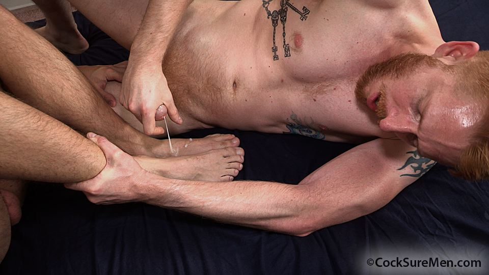 Cocksure Men Heath Anthony and Devan Bryant Redhead Gets Barebacked By Hairy Daddy Amateur Gay Porn 16 Heath Anthony Barebacks Devan Bryants Hairy Ginger Ass
