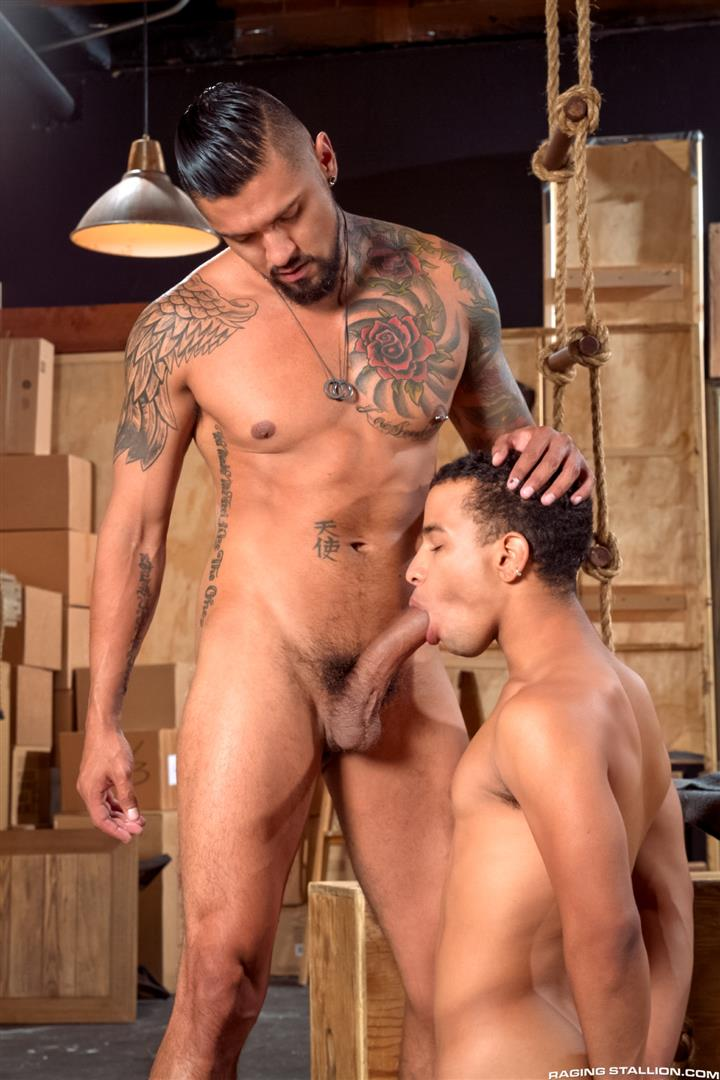 Raging Stallion Boomer Banks and Trelino Huge Uncut Cock Fucking A Black Ass Amateur Gay Porn 03 Young Black Guy Takes Boomer Banks Huge Uncut Cock Up The Butt