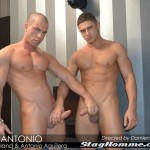 StagHomme Studios Dato Foland and Antonio Aguilera Muscle Hunks With Huge Uncut Cocks Fucking Amateur Gay Porn 01 150x150 Dato Foland & Antonio Aguilera Masculine Muscle Hunks Fucking