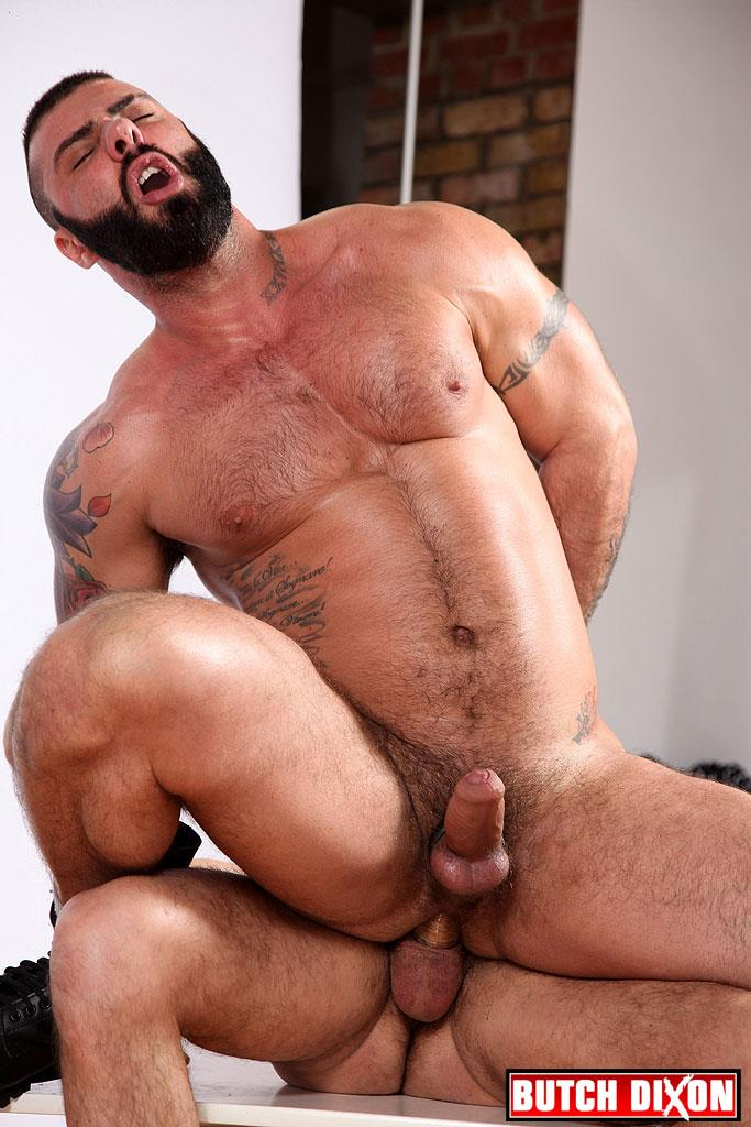 Butch Dixon Alex Marte and Antonio Garcia Beefy Hunks With Big Uncut Cocks Fucking Amateur Gay Porn 21 Beefy Burly Muscle Guys With Thick Uncut Cocks Fucking Hard