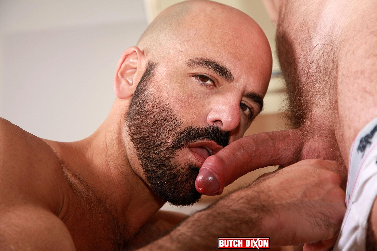 Butch Dixon Adam Russo and Adam Dacre Getting Fucked By A Big Uncut Cock Amateur Gay Porn 02 Adam Russo Getting A Big Bareback Uncut Cock Up His Hairy Ass