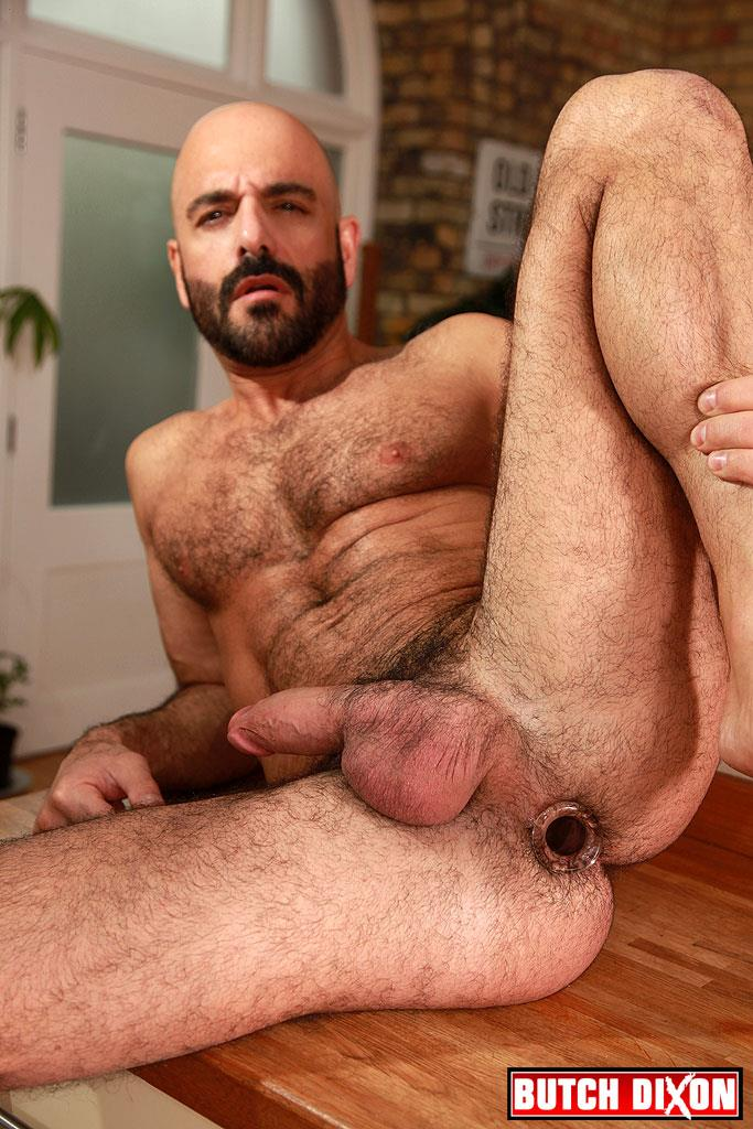 Butch-Dixon-Adam-Russo-and-Adam-Dacre-Getting-Fucked-By-A-Big-Uncut-Cock-Amateur-Gay-Porn-18 Adam Russo Getting A Big Bareback Uncut Cock Up His Hairy Ass