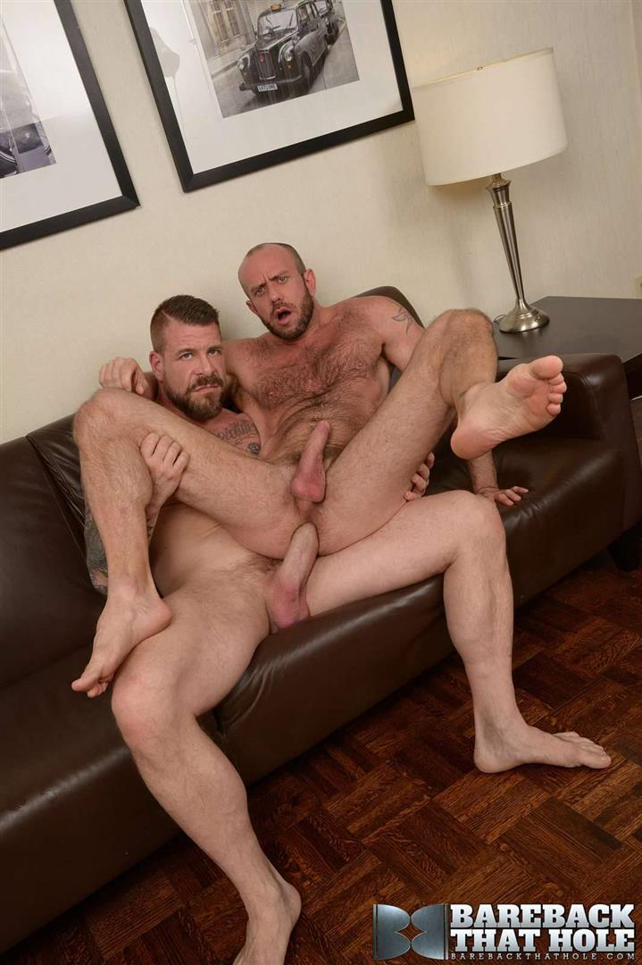Bareback-That-Hole-Rocco-Steele-and-Matt-Stevens-Hairy-Muscle-Daddy-Bareback-Amateur-Gay-Porn-10 Hairy Muscle Daddy Rocco Steele Breeding Matt Stevens