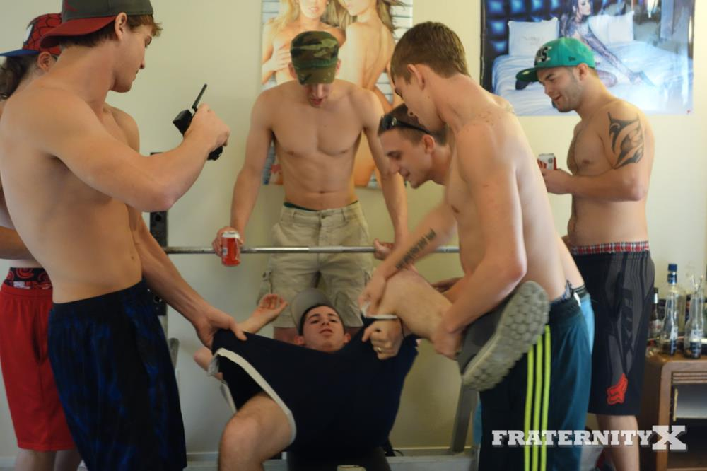 Fraternity X Straight College Guy Getting Barebacked Naked College Guys Amateur Gay Porn 01 Straight College Freshman Gets Barebacked By His Fraternity Brothers