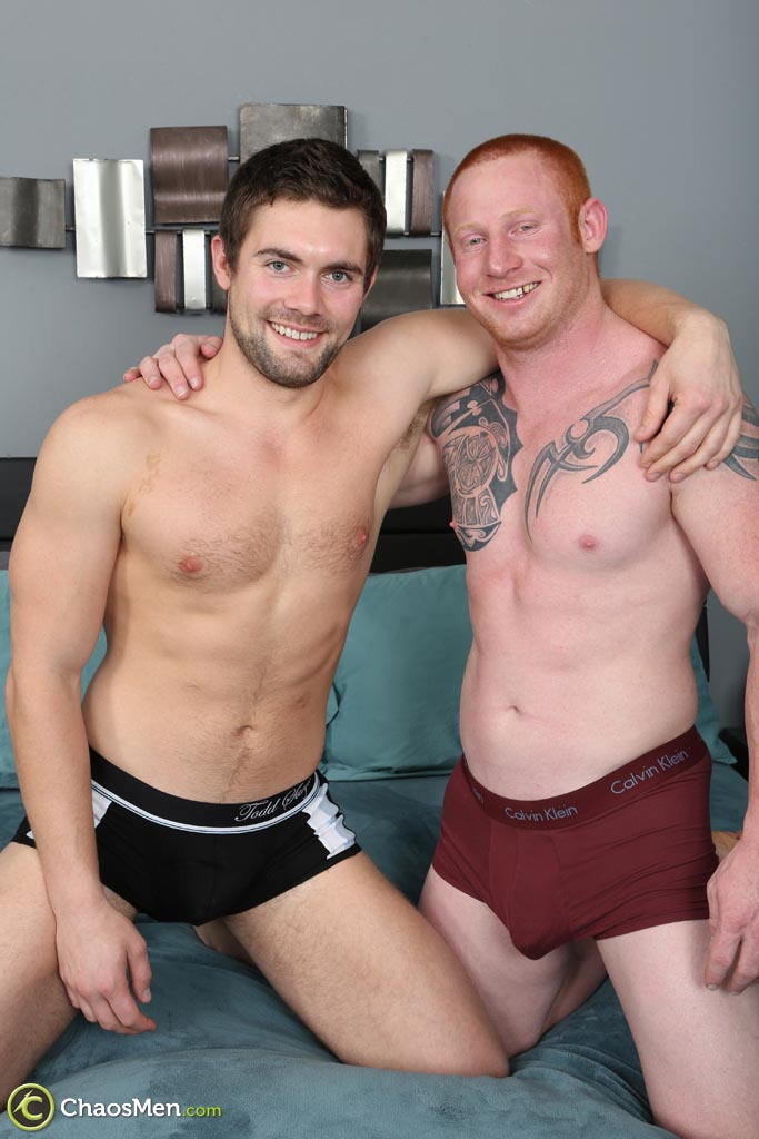 ChaosMen-Jordan-and-Griffin-Bareback-Redhead-Straight-Guys-Fucking-Amateur-Gay-Porn-02 Straight Redheaded Muscle Hunk Barebacking A Guys Ass