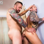Lucas Entertainment Dylan James and Hugh Hunter Muscular Bareback Amateur Gay Porn 05 150x150 Muscular Hunks Dylan James And Hugh Hunter Fucking Bareback