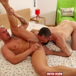 Butch Dixon Erik Lenn and Mike Bourne Masculine Guys Fucking Bareback Amateur Gay Porn 14 150x150 Beefy Masculine Guys Fucking Bareback With A Big Uncut Cock