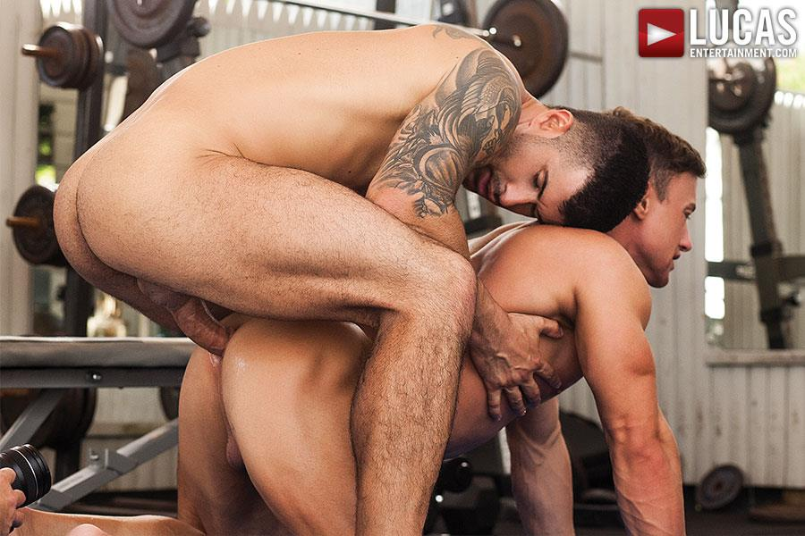 Lucas Entertainment Alexander Volkov and Adam Killian Muscule Bareback Fuck Amateur Gay Porn 06 Adam Killian Barebacking A Muscle Hunk With A Juicy Ass