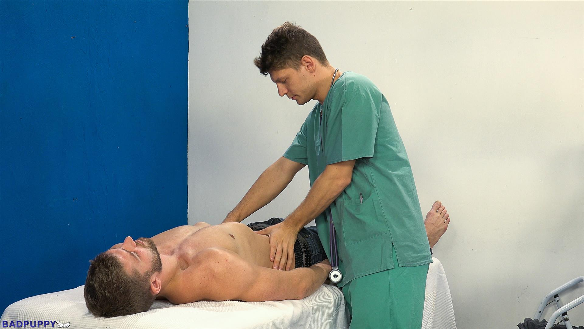 Doctor fucks guy during prostate exam gay