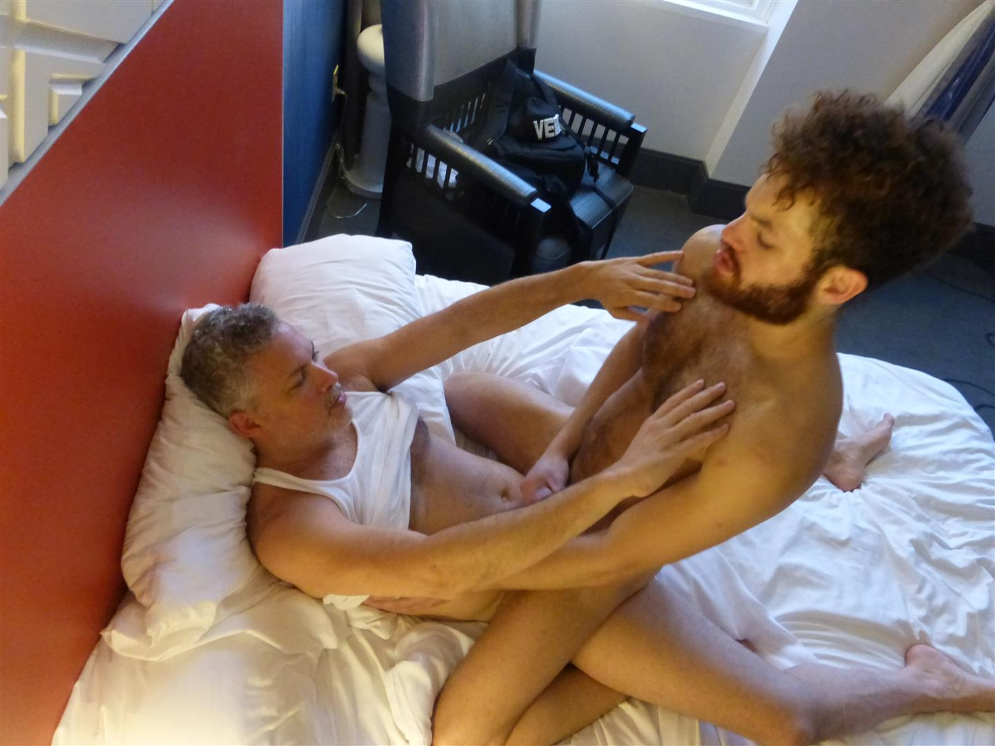 Maverick Men Adam Hairy Muscle Cub Barebacked By Two Muscle Daddies Amateur Gay Porn 42 Young Hairy Muscle Cub With A Big Uncut Cock Takes Two Daddy Cocks