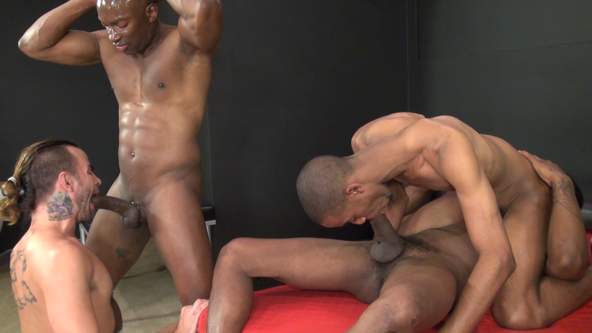 Raw and Rough Champ Robinson Lukas Cipriani Knockout Tigger Redd BBBH Amateur Gay Porn 16 White Boy Gets A Breeding By Three Big Black Dicks