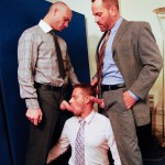 AlphaMales Kurt Rogers and Jake Ryder and Matthew Ford Bareback Threesome Amateur Gay Porn 01 150x150 Three Office Hunks In Suits With Big Uncut Cocks Bareback Fucking In The Workplace