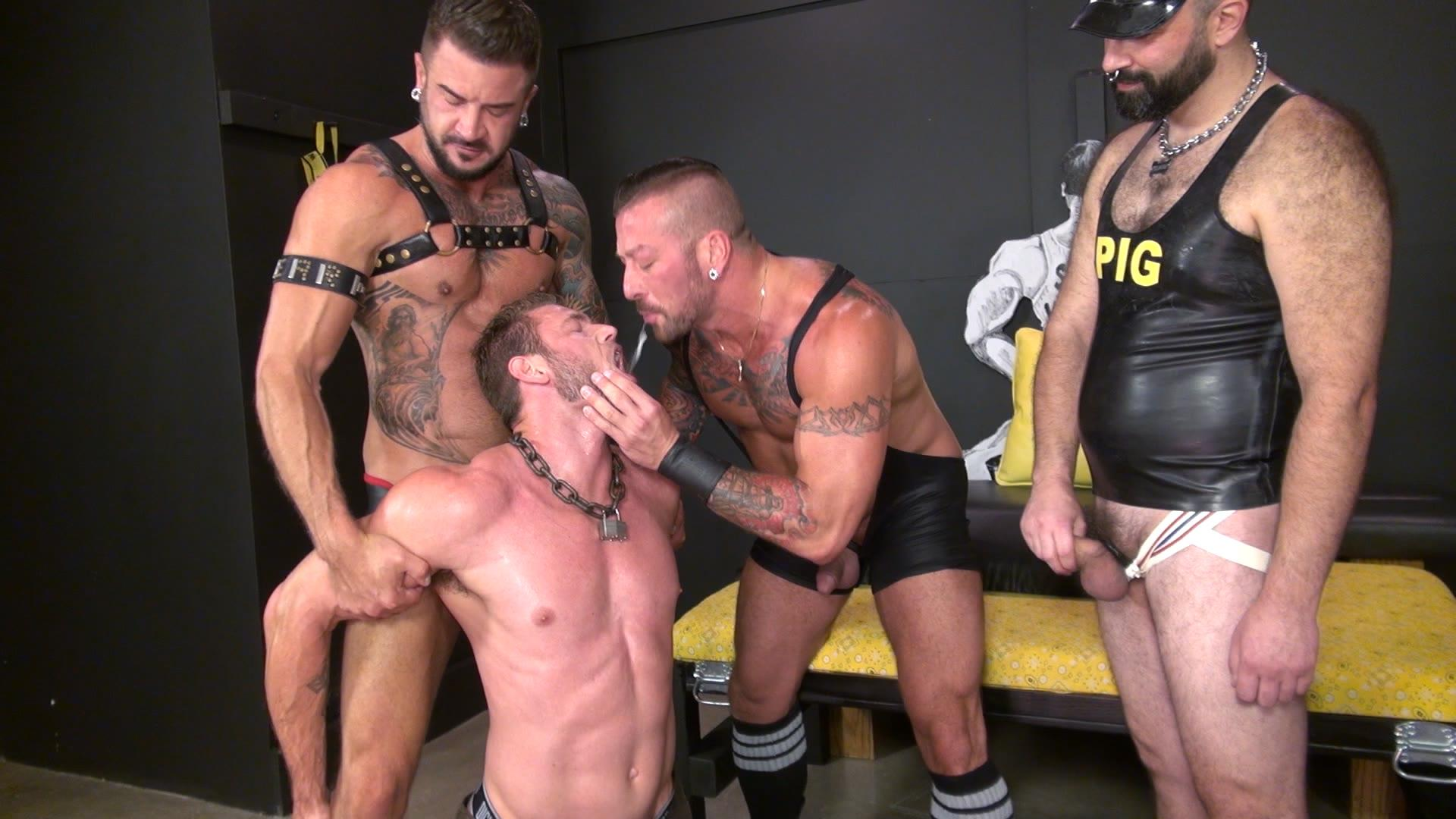 Raw-and-Rough-Boy-Fillmore-Dolf-Dietrich-Damon-Andros-Hugh-Hunter-Ace-Era-Free-Gay-Porn-17 Bareback Fuck And Piss Party At An Underground Sex Club
