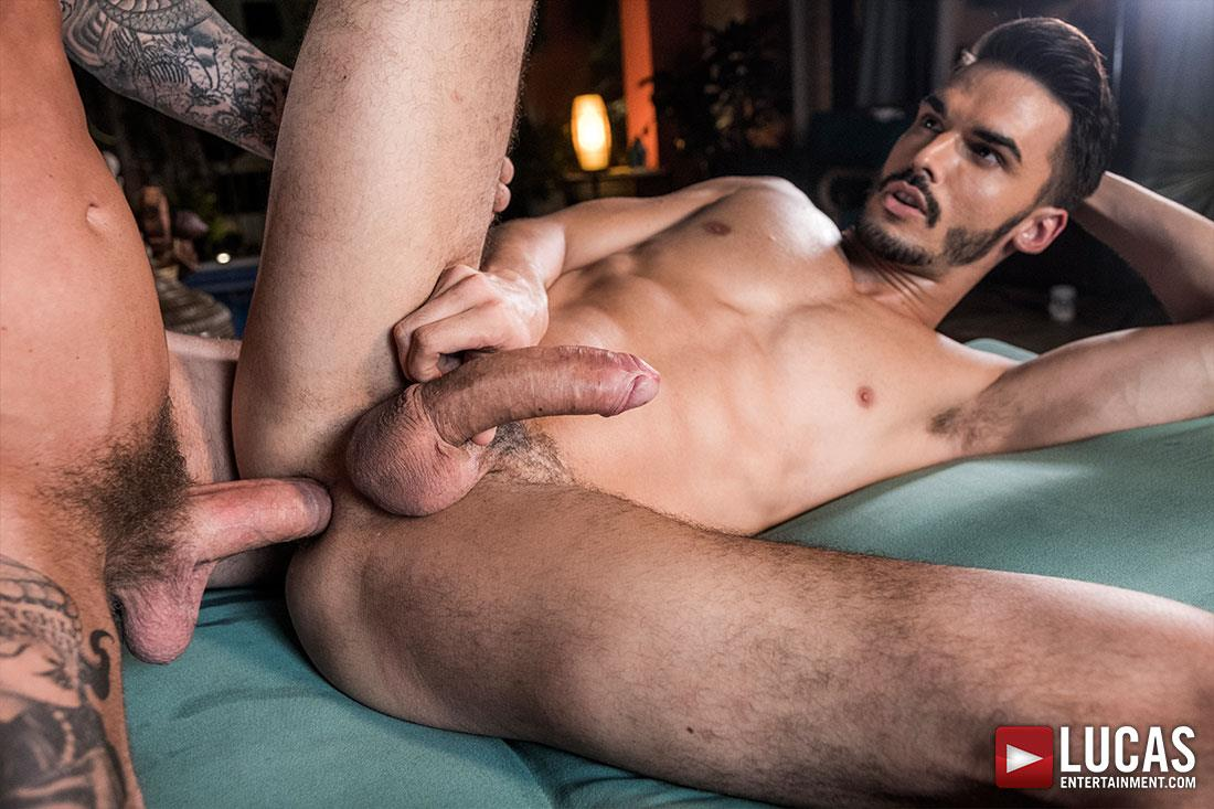 Lucas-Entertainment-Dylan-James-and-Aaden-Stark-Bareback-Creampie-18 Dylan James Gives Aaden Stark A Bareback Creampie