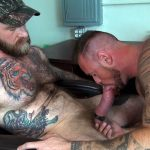 Raw-Fuck-Club-Jack-Dixon-and-Michael-Roman-Hairy-Muscle-Daddy-Bareback-Gay-Sex-Video-12-150x150 Taking A Raw Ride On Jack Dixon's Big Fat Daddy Cock