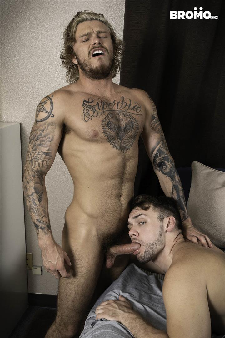 Bromo-Blaze-Austin-and-Blake-Ryder-Big-Cock-Guys-Fucking-Bareback-06 Blaze Austin Gets His Hole Creampied By Blake Ryder