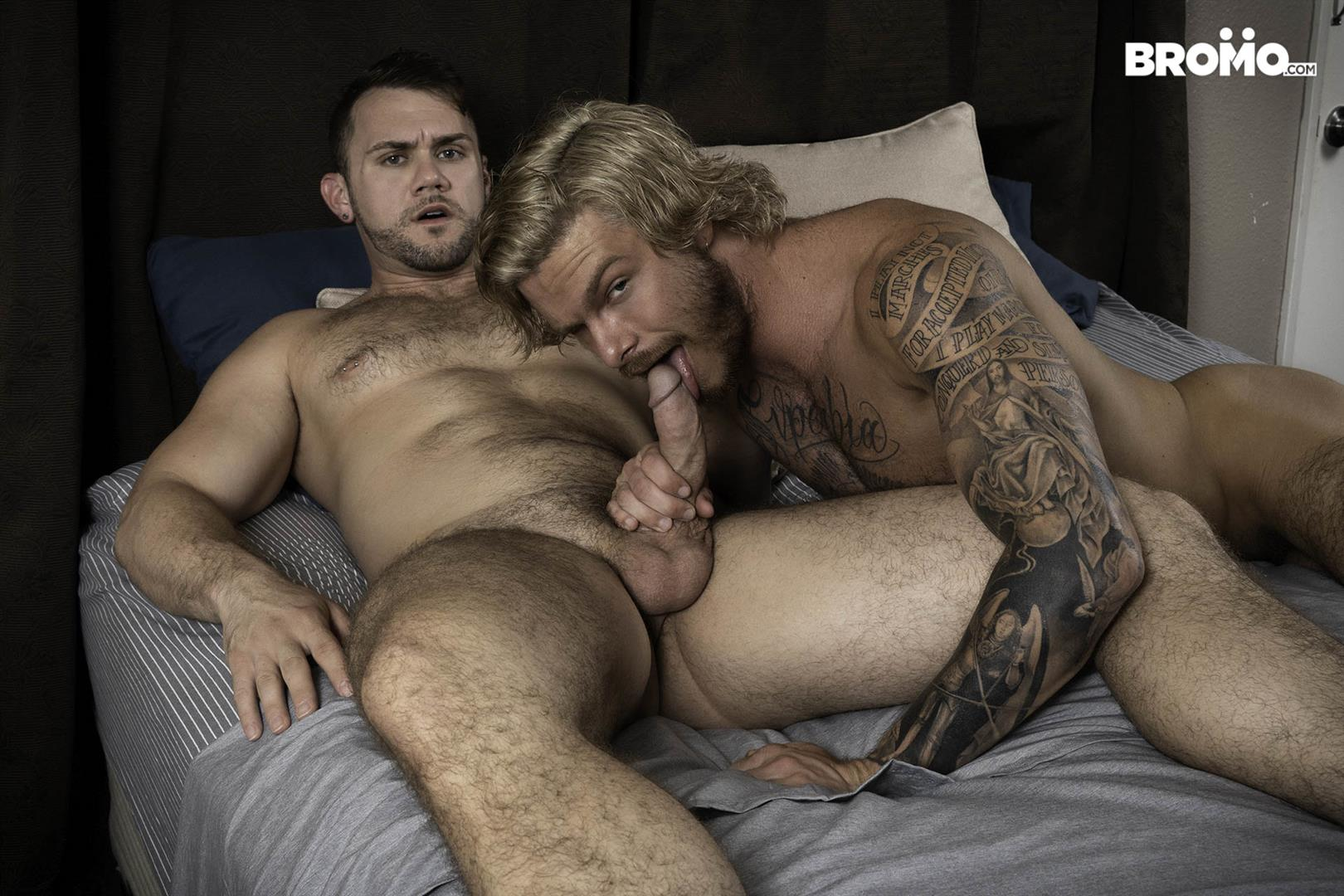 Bromo-Blaze-Austin-and-Blake-Ryder-Big-Cock-Guys-Fucking-Bareback-08 Blaze Austin Gets His Hole Creampied By Blake Ryder