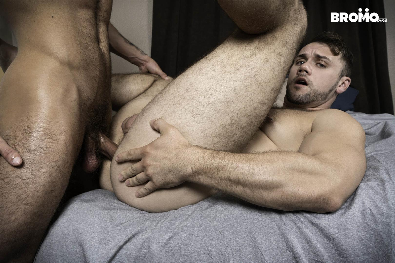 Bromo-Blaze-Austin-and-Blake-Ryder-Big-Cock-Guys-Fucking-Bareback-16 Blaze Austin Gets His Hole Creampied By Blake Ryder