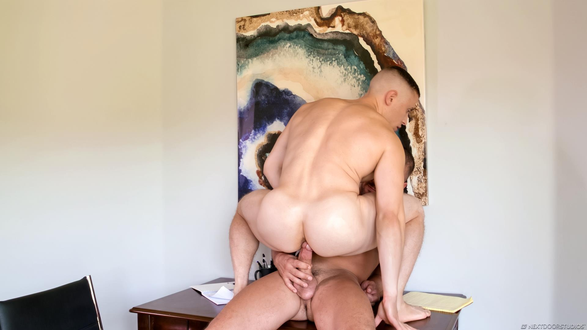 Next-Door-Studios-Dante-Martin-and-Darin-Silvers-Big-Dick-Muscle-Guys-Bareback-Sex-Video-04 Giving My Muscular Roommate A Bareback Creampie