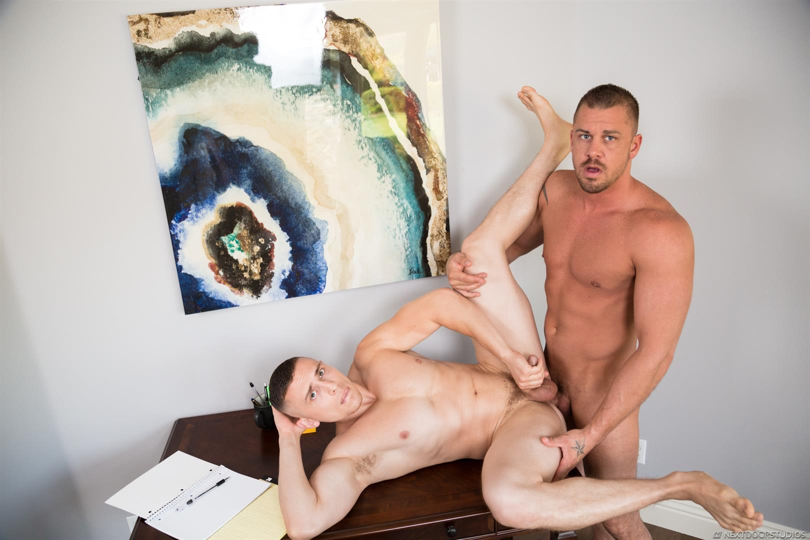 Next-Door-Studios-Dante-Martin-and-Darin-Silvers-Big-Dick-Muscle-Guys-Bareback-Sex-Video-07 Giving My Muscular Roommate A Bareback Creampie