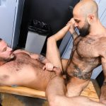 Men-Over-30-Sean-Harding-and-Atlas-Grant-Hairy-Muscle-Bareback-Gay-Sex-Video-14-150x150 Getting Fucked By A Big Uncut Cock Hairy Muscle Hunk In The Gym Locker Room