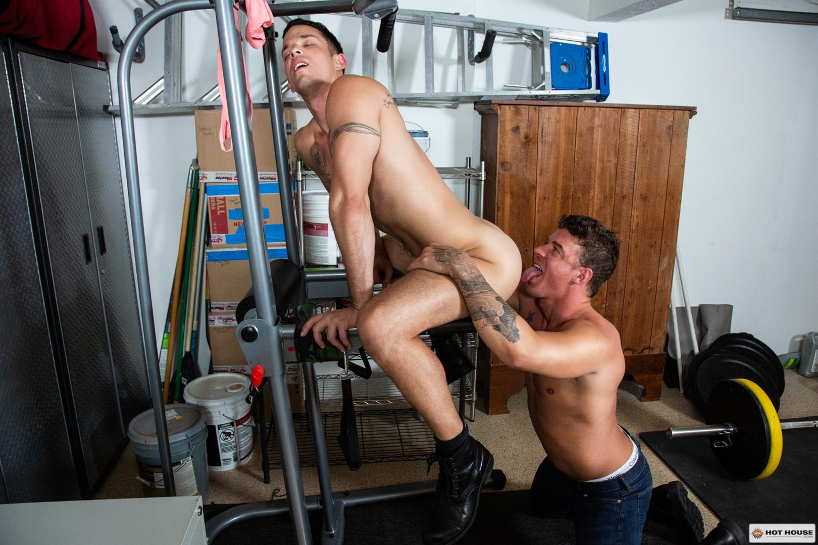 Hot-House-JJ-Knight-and-Nic-Sahara-Big-Cock-Jocks-Fucking-Bareback-08 JJ Knight Floods Nic Sahara's Ass With Cum